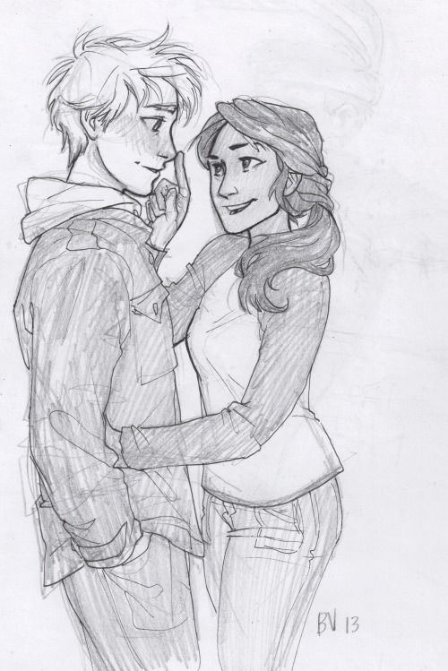 opposite couples drawings