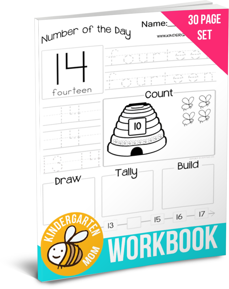 Free workbook! Our Number of the Day Math worksheets are perfect ...