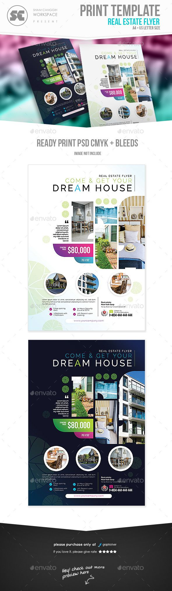 real estate flyer flyer templates designed exclusively for house