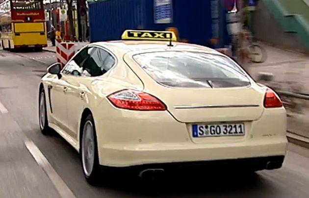 Berlin Porsche Taxi Modes