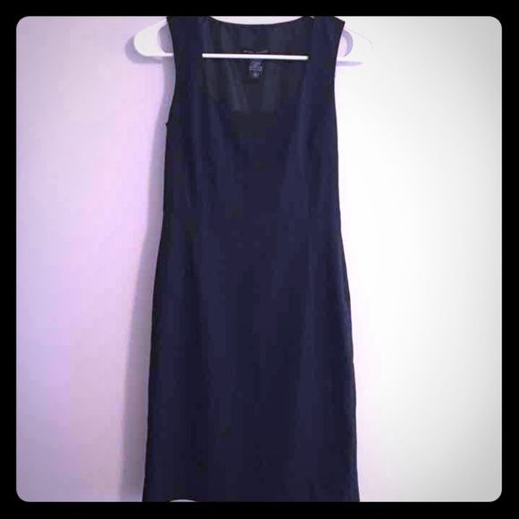 Size 2 New York and Company 348 Black and white pinstripe dress. Perfect for the office New York & Company Dresses
