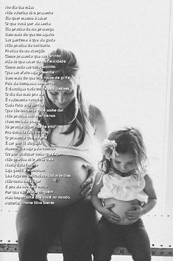 O maior presente de uma mãe é seu filho