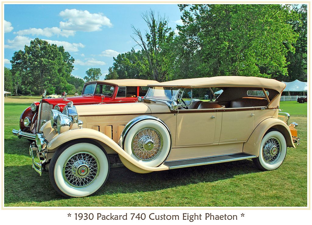 1930 Packard Custom Eight | things with wheels & funkymobiles