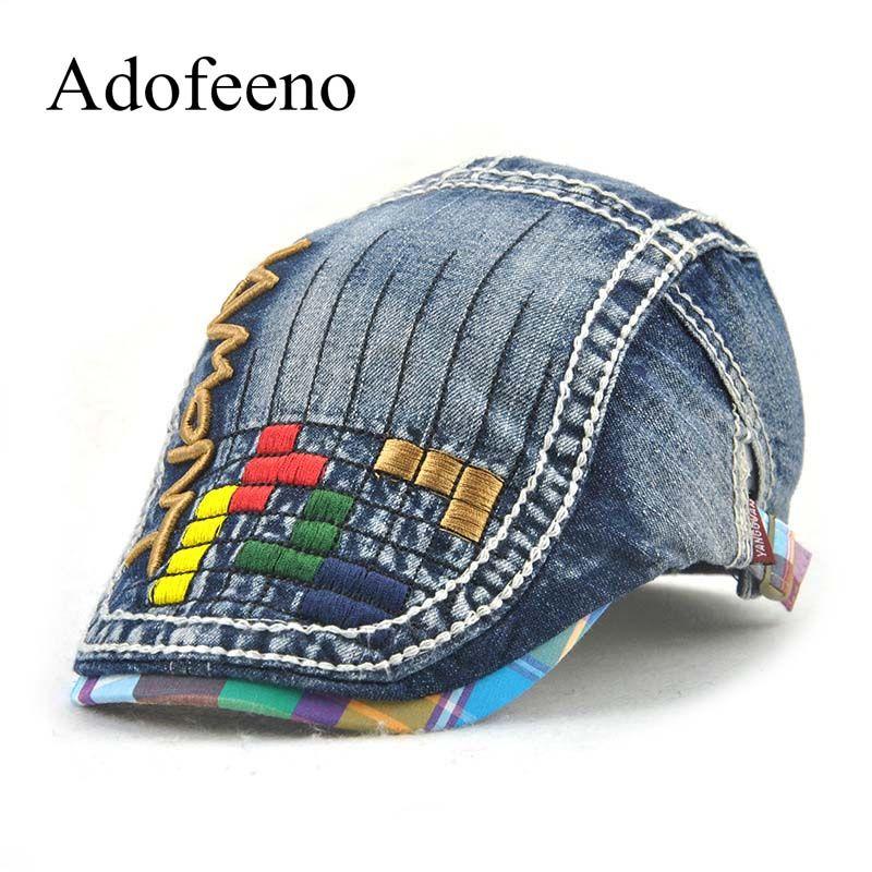 65e81d12ee8 Adofeeno Children Visors Caps Baby Cowboy Visors Hats for Boy Girl Designer  Cartoon Cap