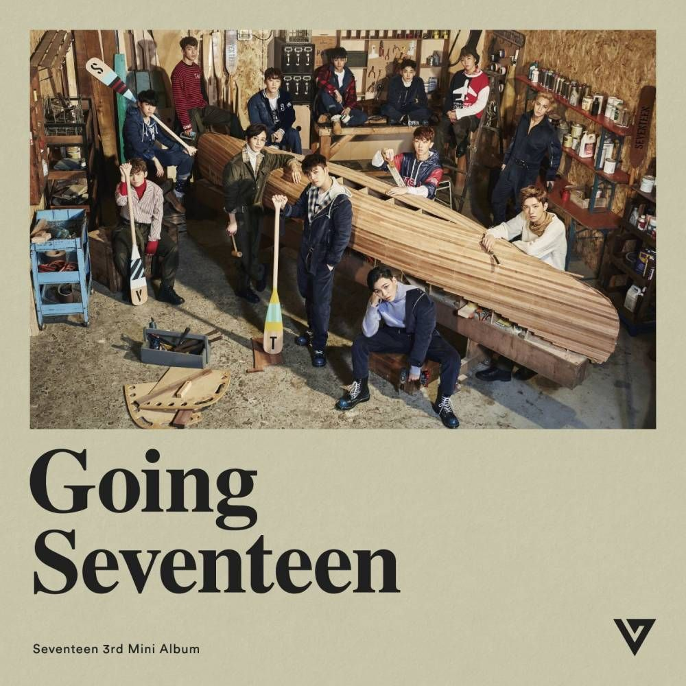 Znalezione obrazy dla zapytania going seventeen seventeen cover