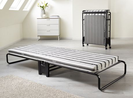Jay Be Advance Folding Bed With Airflow Mattress Black Twin