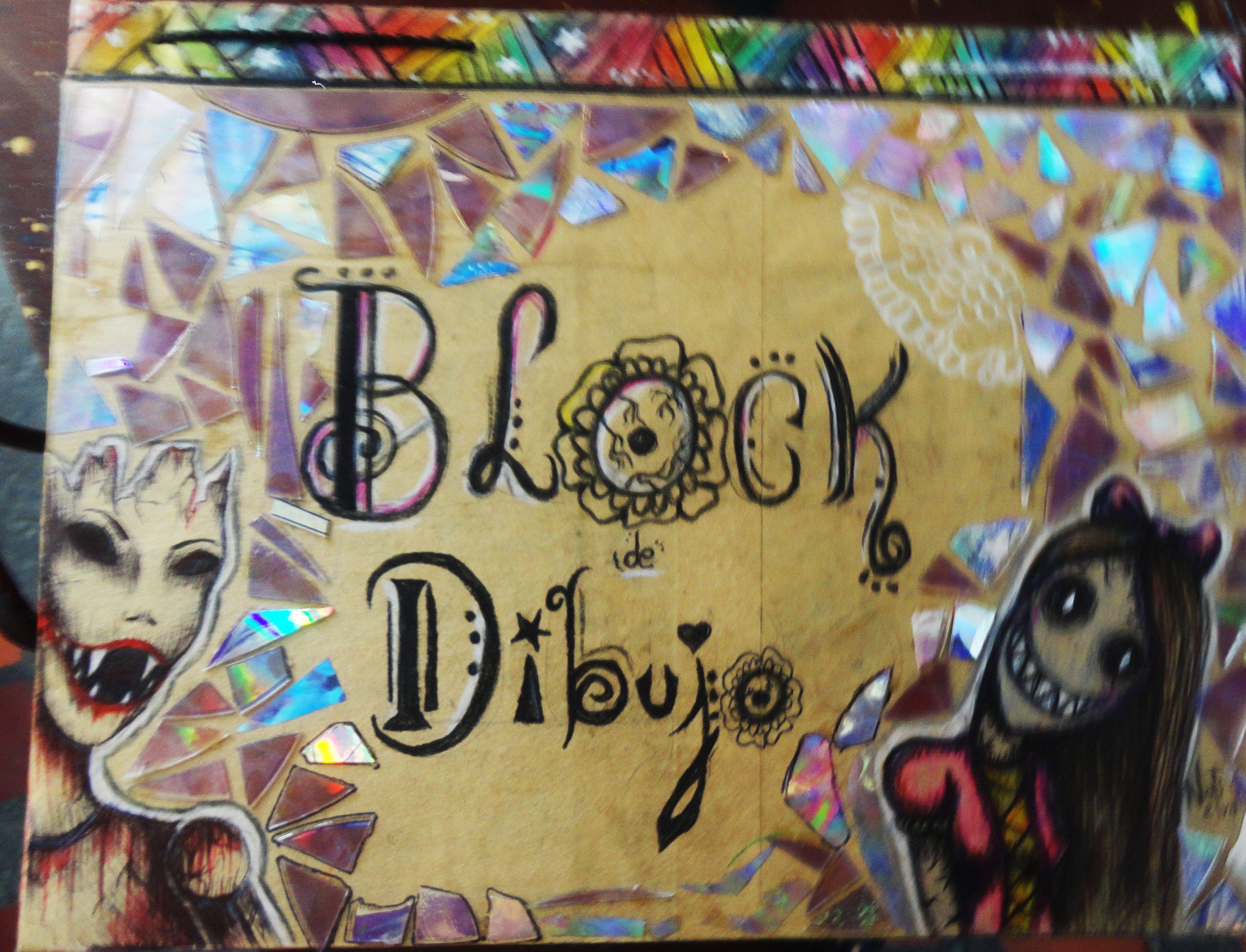 Drawing Block Block De Dibujo Diario Dibujos Draw Dark Art Book Cover Instagram