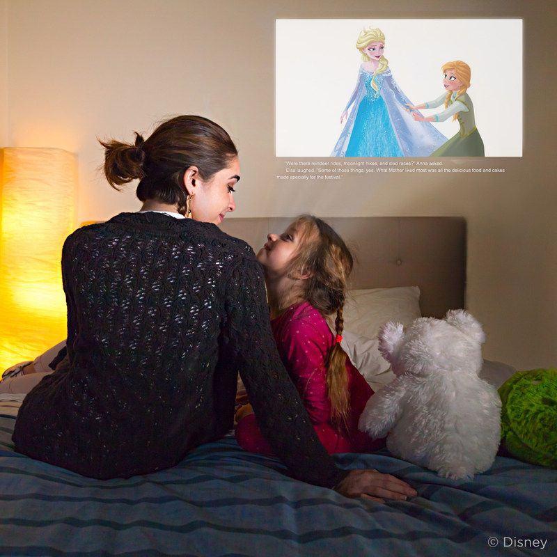 Enchanted Disney Bedtime Stories | CINEMOOD Portable Movie Theater