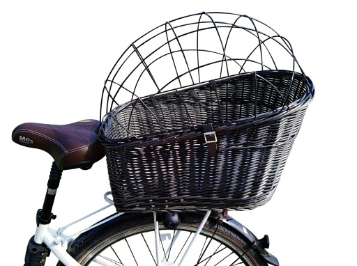 Kosz Koszyk Wiklinowy Na Rower Psa Kota Bagaznik Stroller Baby Strollers Shopping Cart