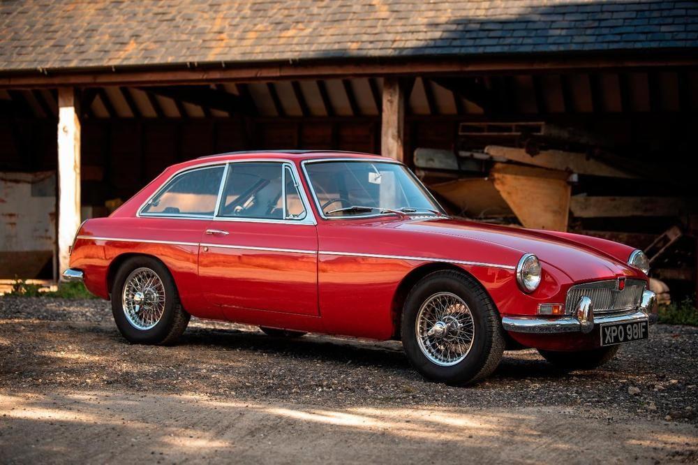 1968 MG MGC GT (AL3383) : Registry : The MG Experience