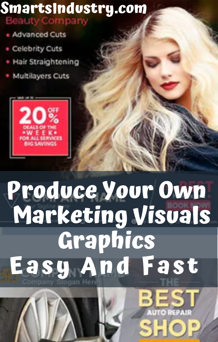 Produce Your Own Marketing Visuals Graphics Easy And Fast