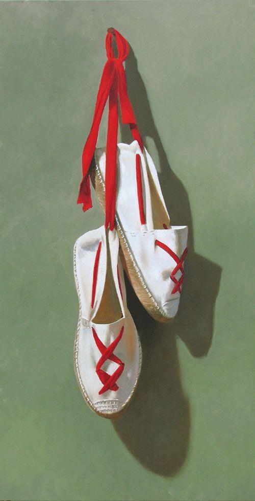 chaussures de sport 58c1a 4401d espadrilles basques - Recherche Google | Peinture en 2019 ...