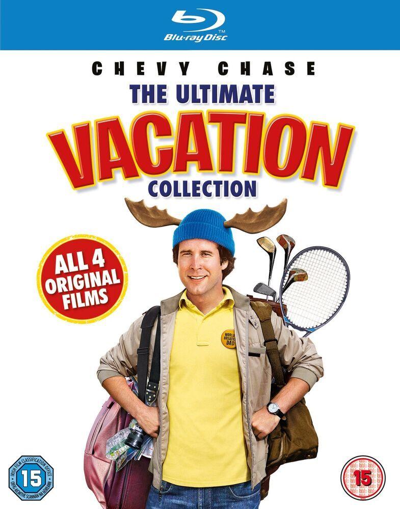 National Lampoon Vacation Blu Ray Boxset Box DVD Movies