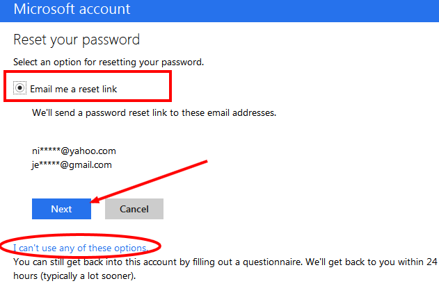 How To Reset Hotmail Password Reset Password Email Id Forgot