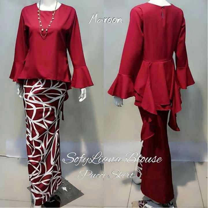 Baju Tali Depan