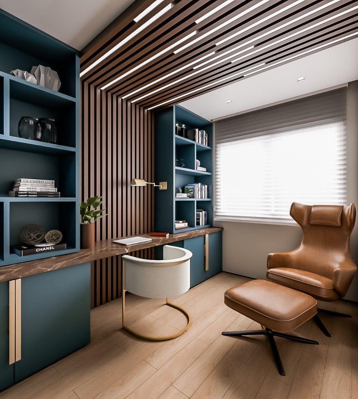 был дизайн домашнего кабинета с фото необходимо для того
