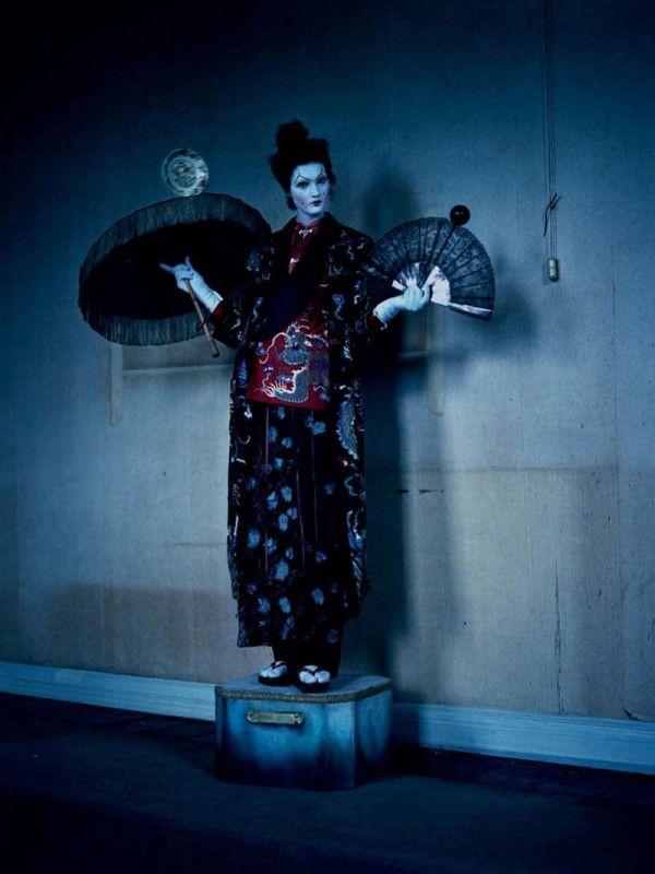 """Mechanical Dolls"" | Model: Kirsi Pyrhonen, Photographer: Tim Walker, Suffolk, UK, Vogue Italia, October 2011"