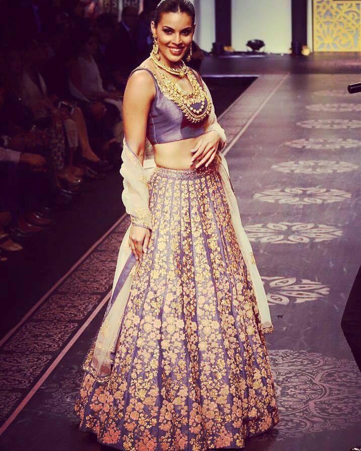 Indian Lavendar Bridesmaid Dresses