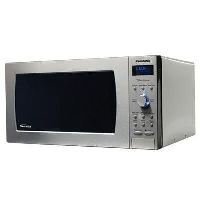 Panasonic Nn Sd997s Genius Prestige 2 Cuft 1250 Watt Sensor Microwave With Inverter Technology