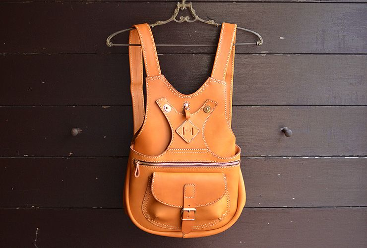 普段使いタイプの着る鞄