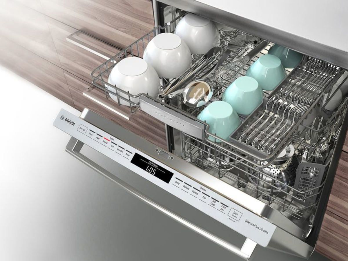 A Dishwasher That S Whisper Quiet And Worth The Money Bosch Dishwashers Clean Dishwasher Cleaning Hacks