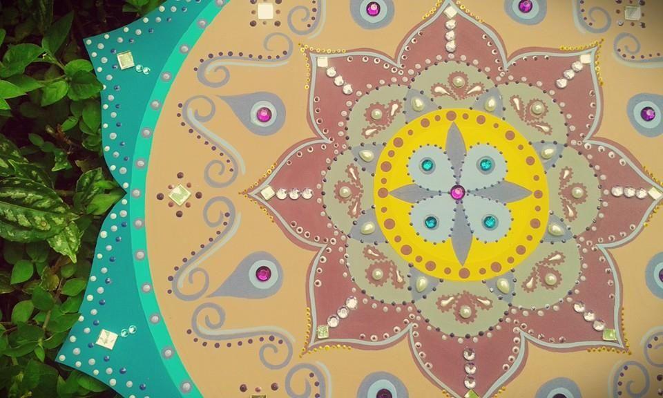 ♥ 11 - 45cm de Mandala - Disponível para pronta entrega