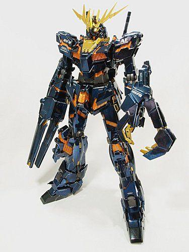 Mg Unicorn Gundam Banshee Gundam Pinterest Gundam Unicorn