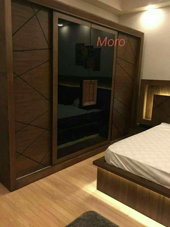 pin by abdo on furniture design bedroom closet modern interior wardrobe ashley dolante king bed