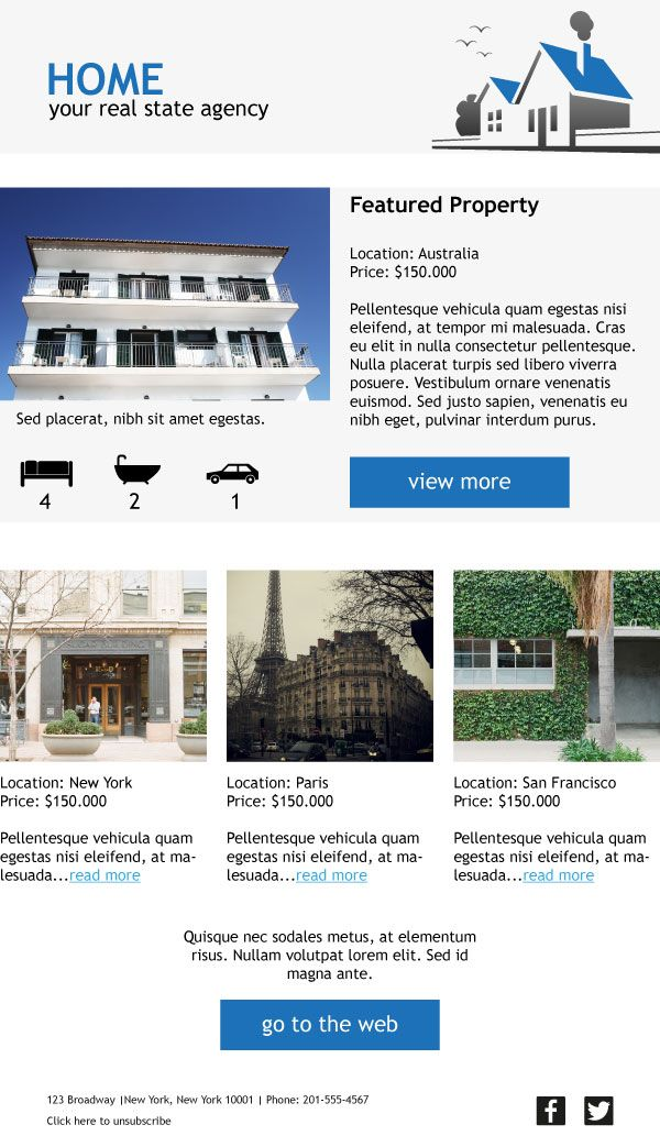 Show Off Beautiful Properties With This Responsive And Customizable