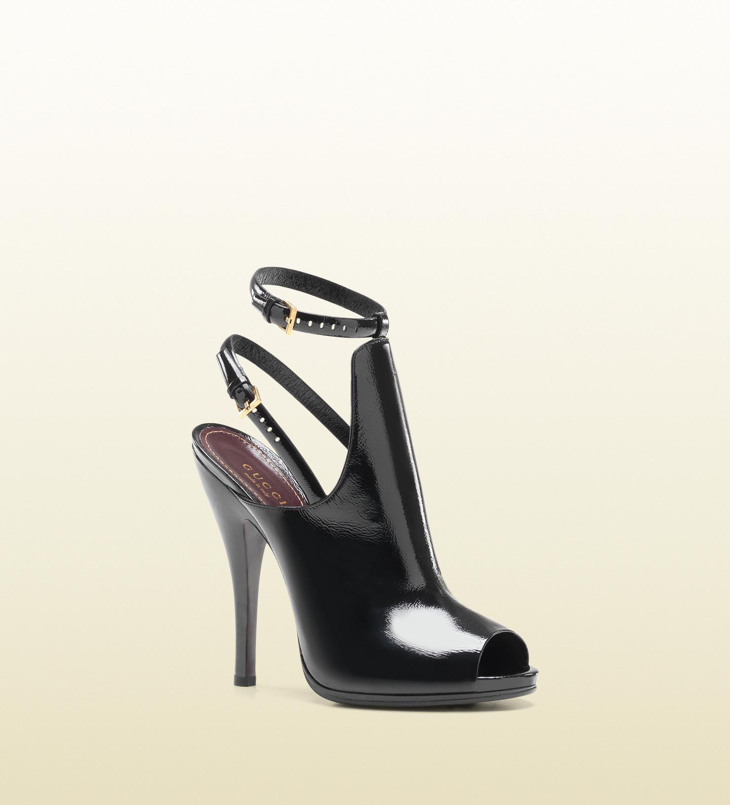 rDqHNOyIii Leather Open Toe Boots D6rE84C