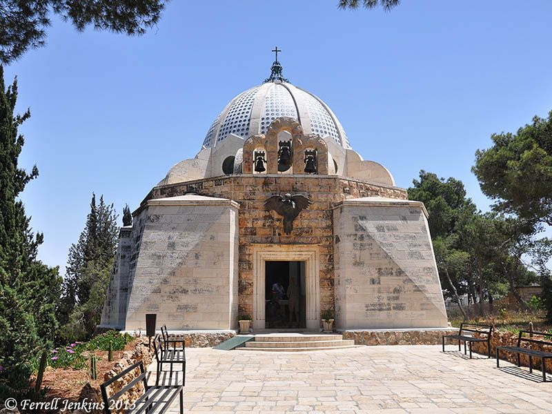 Shepard's Field Church of the Franciscan Custody of the Holy Land in Beit Sahour east of Bethlehem