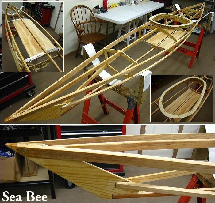 Wood Sof Kayak Builders Manual Homebuilt Skin On Frame