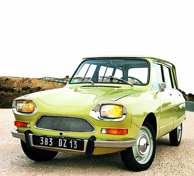ami 8 break d 39 un vert pomme magnifique voitures fran aises que j 39 aime pinterest citro n. Black Bedroom Furniture Sets. Home Design Ideas