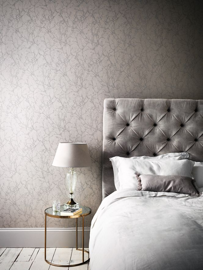 Auch im Schlafzimmer sorgen Tapeten für eine gute Stimmung