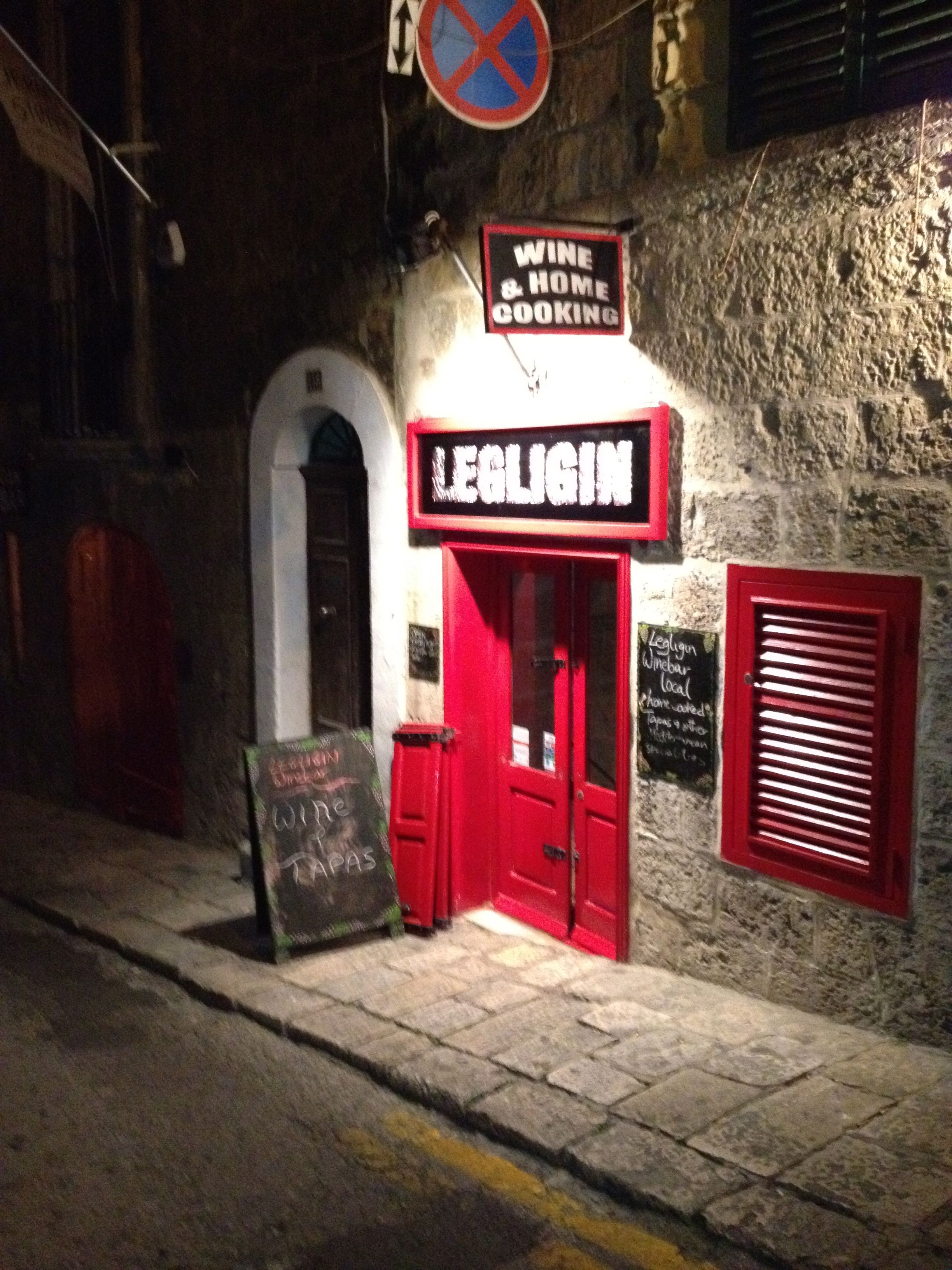 Where To Eat Legligin Valletta Gem It Bills Itself As A Wine Bar You D Be Remiss Not To Opt In For Dinner Here 119 Saint Lucia Street Valletta