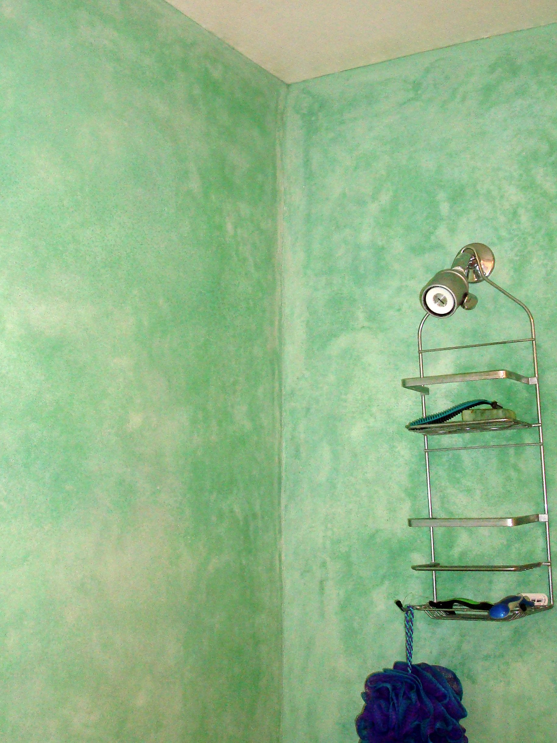 Tadelakt Shower In Moab Utah Is A Waterproof Lime Plaster That So Very Smooth To The Touch Jeffreythenaturalbuilder