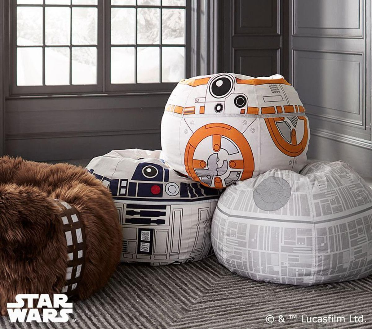 Star Wars R2 D2 Anywhere Beanbag Star Wars Bedroom Star Wars