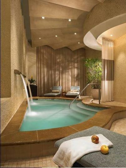 Pool Probably Situated In A Big Bathroom Apartment Bathroom Design Big Bathrooms Dream Bathrooms