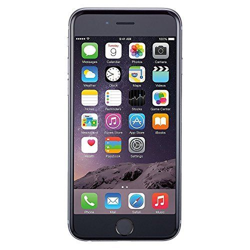 Apple iPhone 6, GSM Unlocked, 16GB - Space Gray (Renewed) best home accessories Offers  from apple