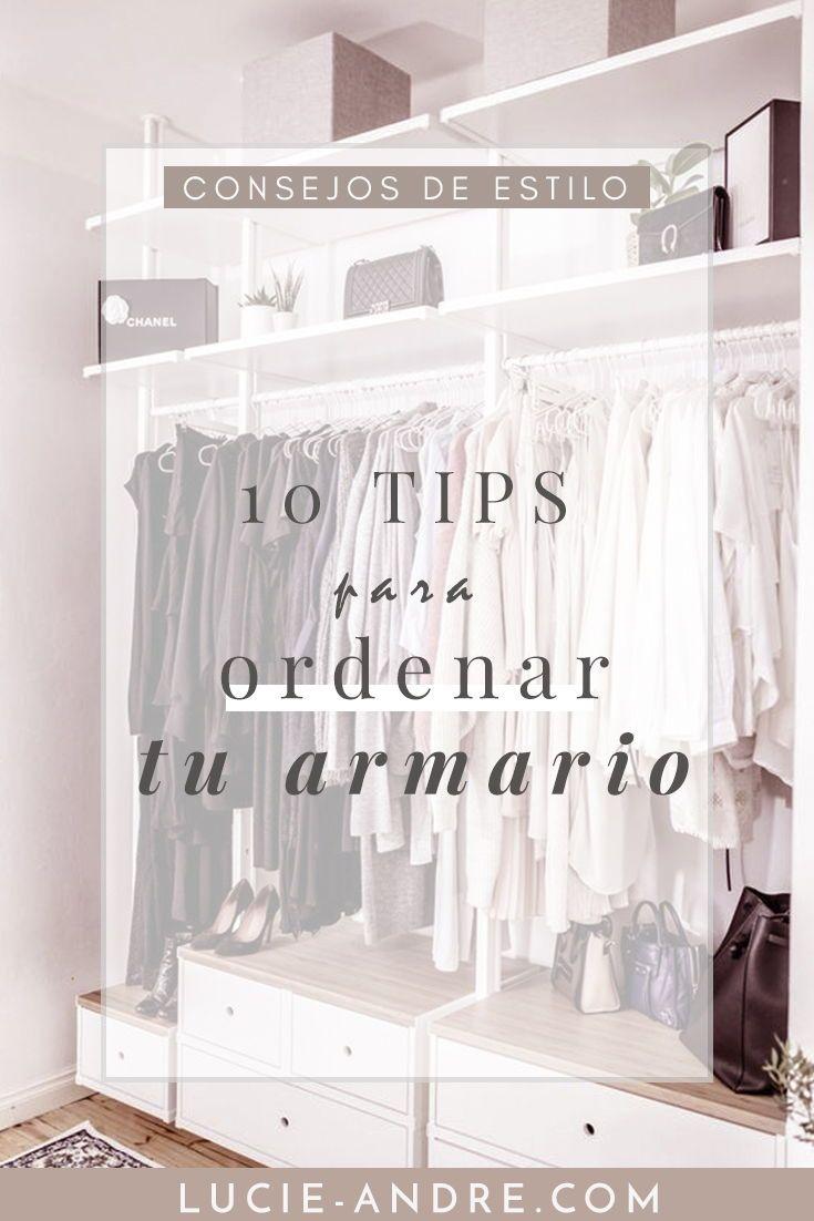 C mo ordenar la ropa de tu armario est s cansada de - Como ordenar tu armario ...