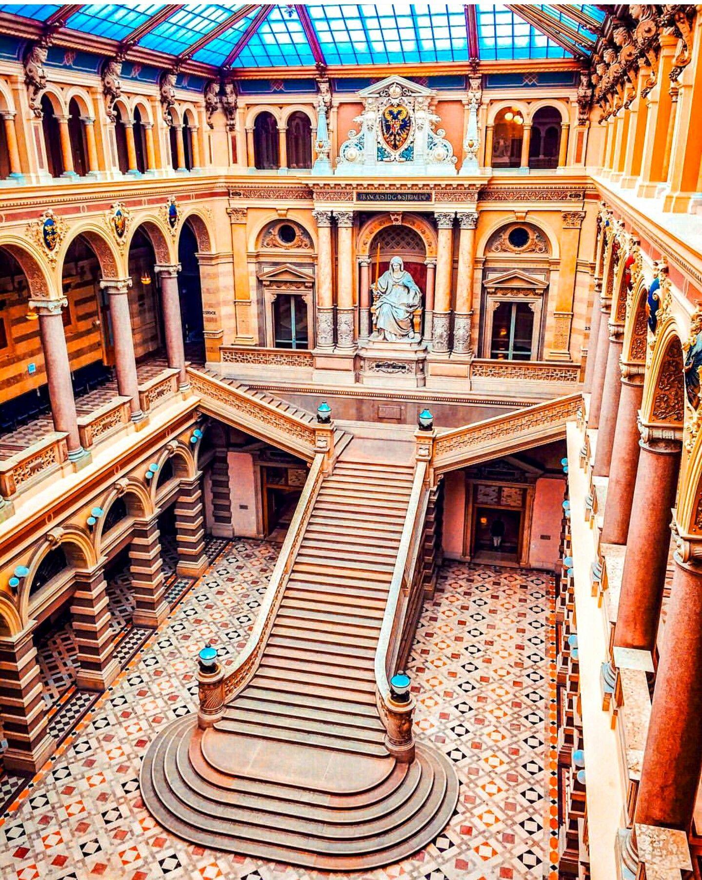 Justizpalast Vienna, Austria