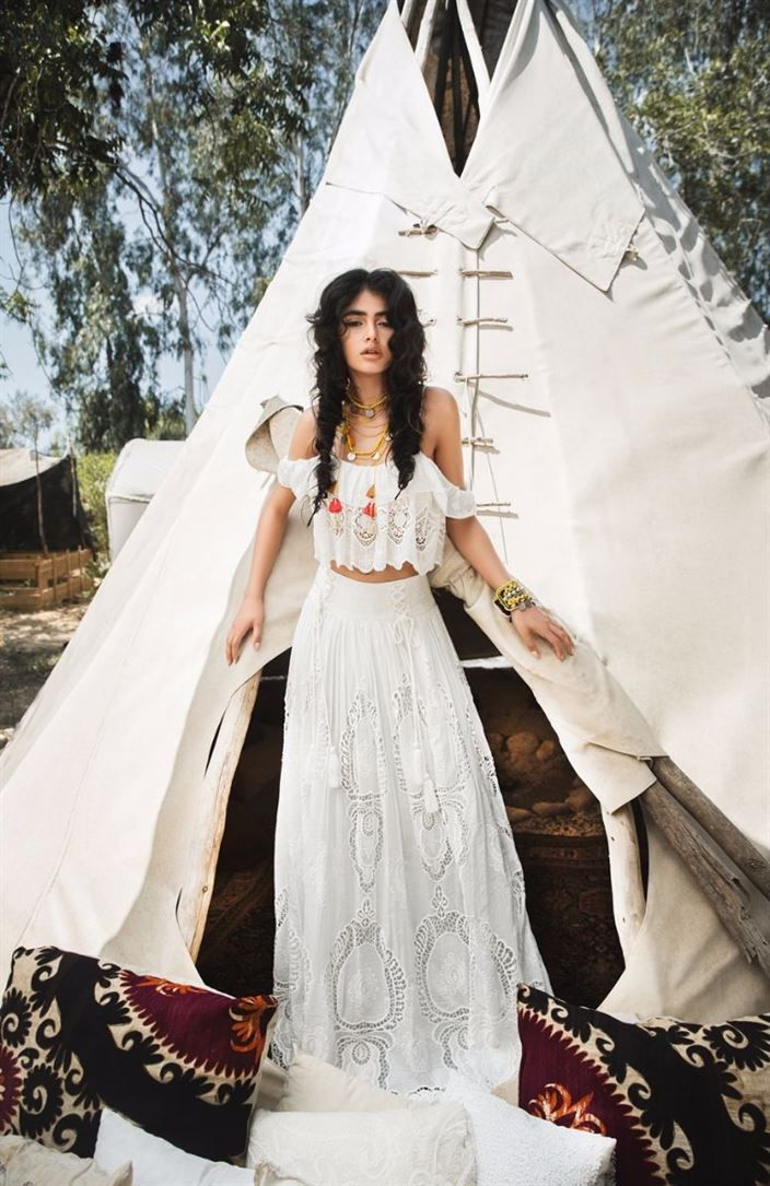 Boho Bride Gypsy Bride Bohemian Wedding Teepee Wedding Gypsy