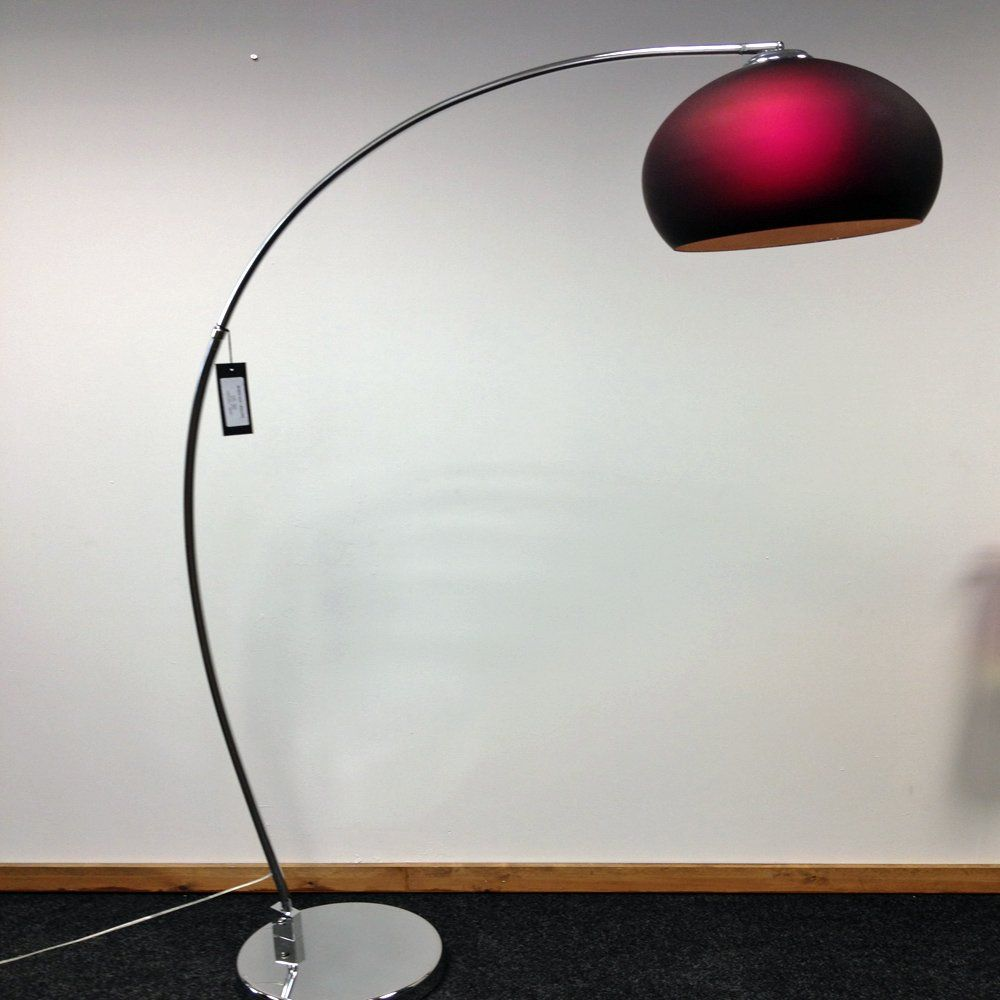 The lrfloor purple 1 light modern floor lamp has a polished chrome the lrfloor purple 1 light modern floor lamp has a polished chrome base complete with a geotapseo Gallery