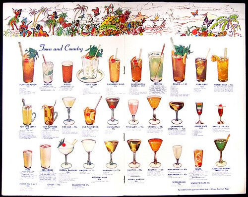 More mixed drink menus mixed drinks pinterest drink for List of mixed drinks