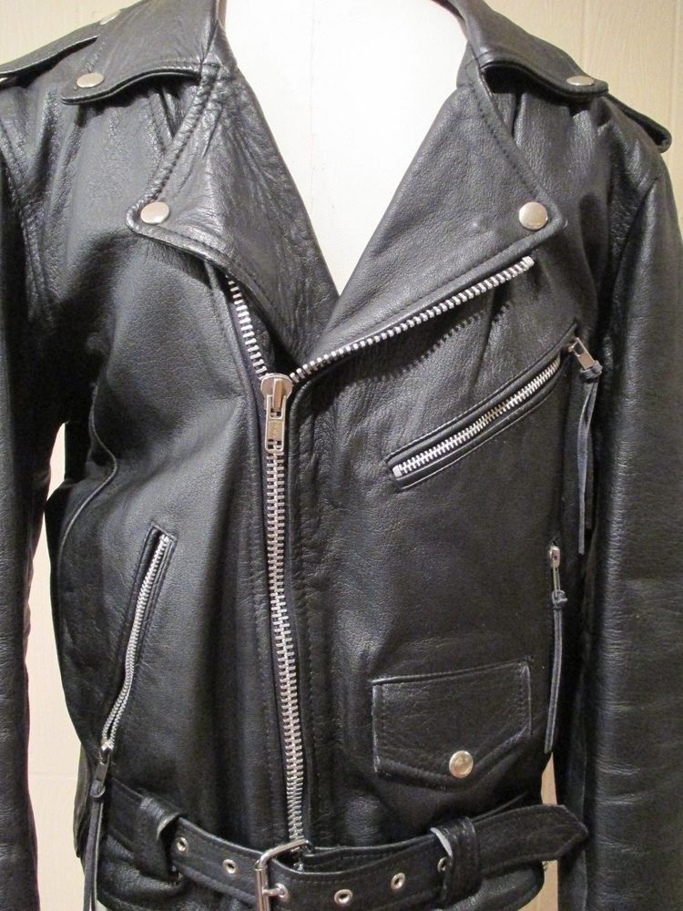 L modes mens size 40 real leather classic leather