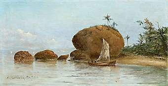 Pedra da Moreninha - Paquetá, Rio de Janeiro. Carlos Balliester