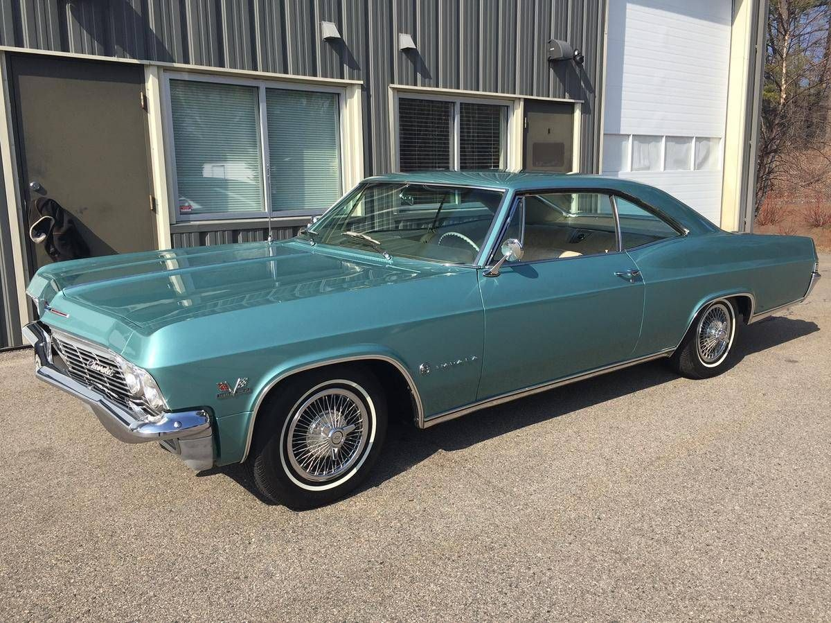 1965 chevrolet impala 396 for sale