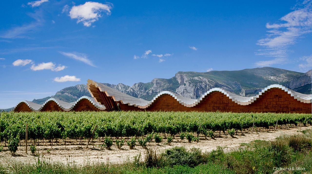 La Rioja, Ysios Bodega by Santiago Calatrava