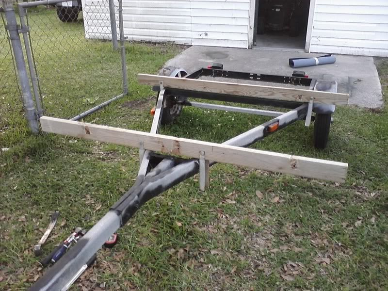 how to build a pvc kayak stand