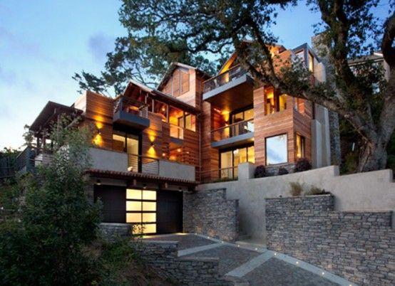 LEED Platinum house, Mill Valley CA
